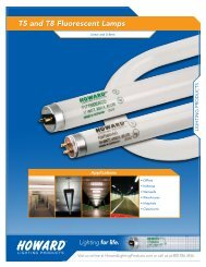 T5 and T8 Fluorescent Lamps