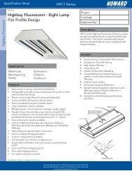 Spec Sheet - Howard Industries, Inc.