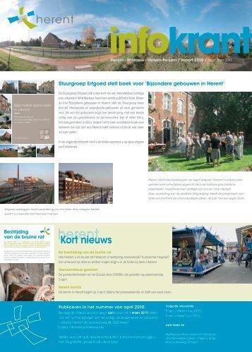 Infokrant maart 2010 - Gemeente Herent