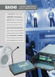 leaflet PDF(440KB) - BeL AQUSTIC