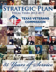 Strategic Plan - Texas Veterans Commission