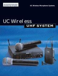 UC Wireless Mic/AL1363C - NTC Inc.