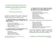 """""""arquitectura y medio ambiente, interacciones"""" - GBCe"""