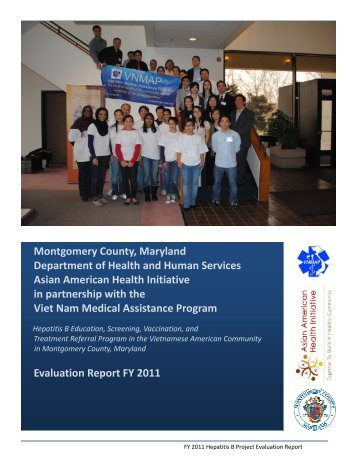 FY 2011 Hepatitis B Evaluation Report - Asian American Health ...