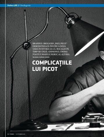 CompliCațiile lui piCot - Diana-Florina Cosmin