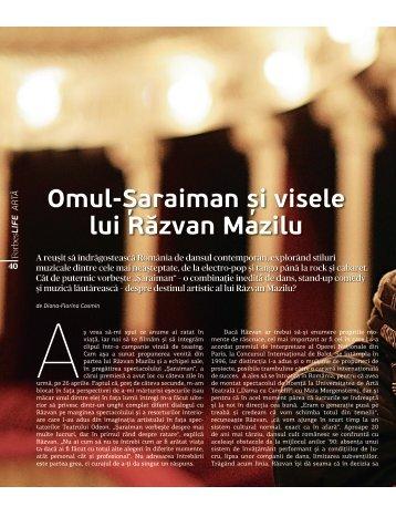 Omul-Șaraiman și visele lui Răzvan Mazilu - Diana-Florina Cosmin