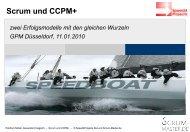 Scrum und CCPM - zwei Erfolgsmodelle mit ... - speed4projects