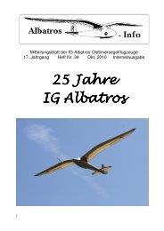 25 Jahre 25 Jahre IG Albatros