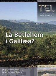 Lå Betlehem i Galilæa?  - Selskab for Bibelsk Arkæologi