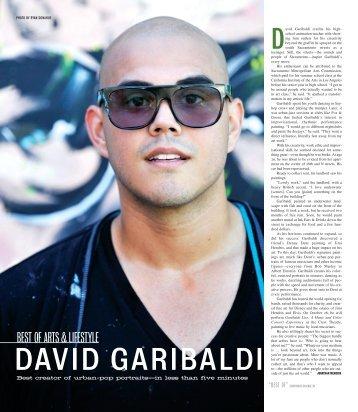 DAVID GARIBALDI