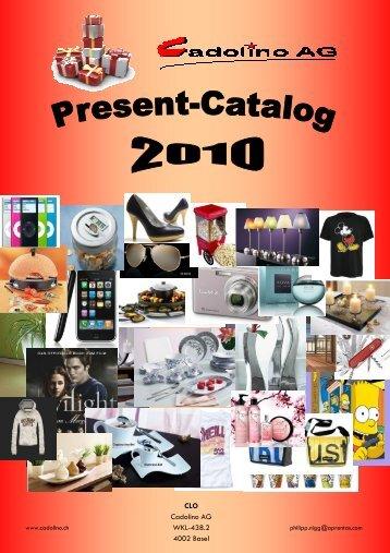 Katalog2009 Englisch - Cadolino