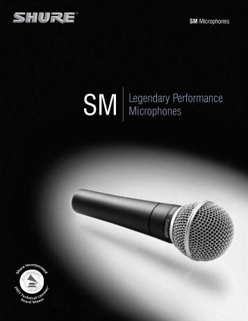 SM Microphones - NTC Inc.