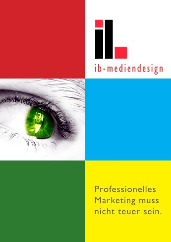 Flyer - ib-mediendesign