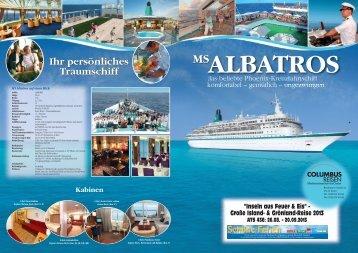 ms albatros – erlebnisreise - Columbus Reisen