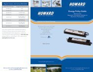 Energy Policy Guide - Howard Industries, Inc.