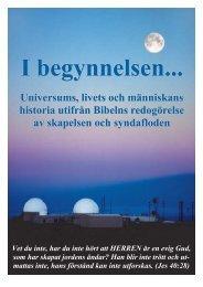 I begynnelsen... - Anders Gärdeborn