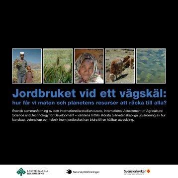 Jordbruket vid ett vägskäl: - Svenska kyrkan