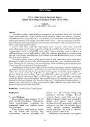 Efektivitas Metode Bermain Peran - S1 Ilmu Komunikasi UNSOED