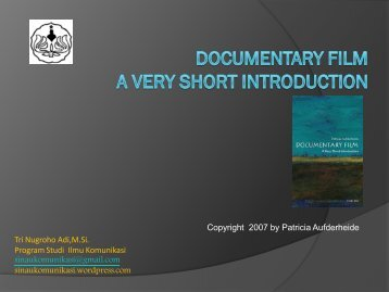 Geopolitics a very short introduction reading guide patricia aufderheide documentary film a very short introduction fandeluxe Images