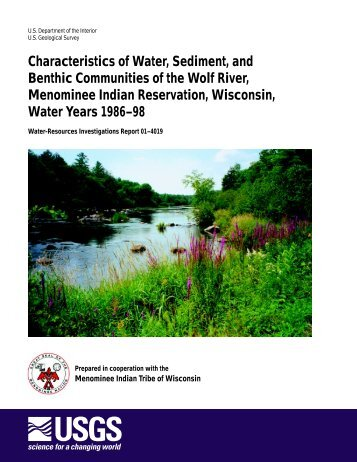 Characteristics of Water, Sediment, and Benthic Communities of the ...