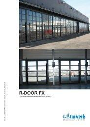Broschyr - R-DOOR FX - Torverk