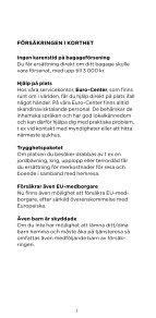 Affärsreseförsäkring - enstaka tjänsteresa - ERV - Page 3