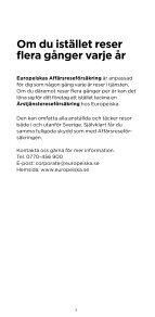 Affärsreseförsäkring - enstaka tjänsteresa - ERV - Page 5