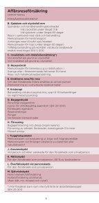Affärsreseförsäkring - enstaka tjänsteresa - ERV - Page 6