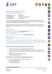 Försäkringsbesked Täby kommun Kollektiv olycksfallsförsäkring - ERV