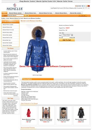 Online shopping moncler loire womens coat blue in general is ...