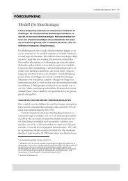 Modell för löneökningar - Konjunkturinstitutet