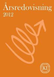 Årsredovisning 2012 - Konjunkturinstitutet