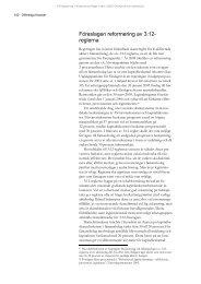 Föreslagen reformering av 3:12- reglerna - Konjunkturinstitutet