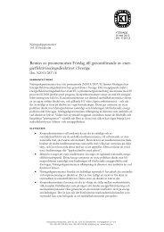 2013-09-11 Förslag till genomförande av ... - Konjunkturinstitutet