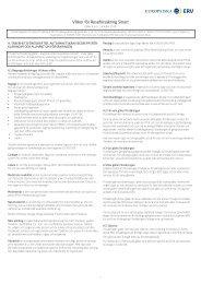 Villkor för Reseförsäkring Smart - ERV