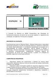 Mecânica Diesel – Motores Estacionários - nead@senairs.org.br