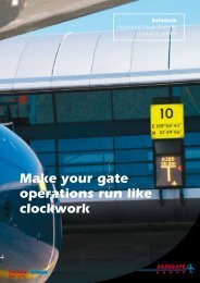 Make your gate operations run like clockwork - Safegate