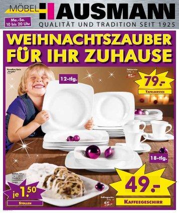 12-tlg. - Möbel Hausmann