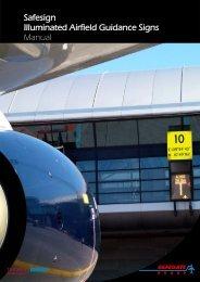 Safesign Illuminated Airfield Guidance Signs - Safegate