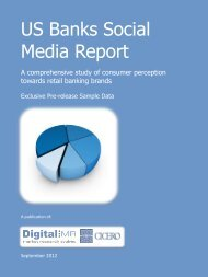 to view and download an excerpt of this report - DigitalMR