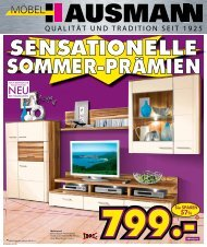 sensationelle sommer-pramien - Möbel Hausmann