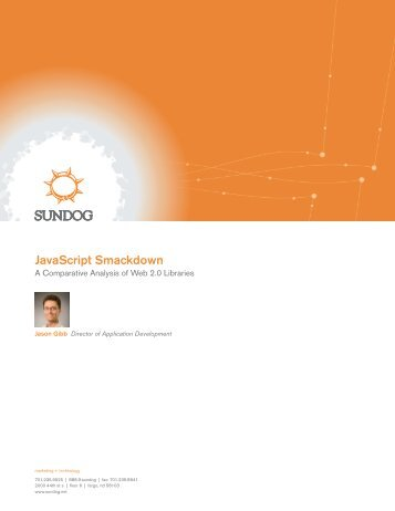 Download White Paper (PDF) - Sundog