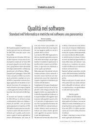 Qualità nel software - Antonio Candiello