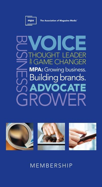 Domestic Membership Brochure - Magazine.org