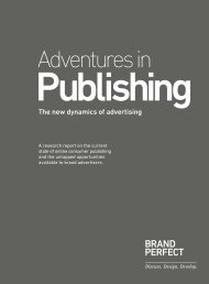 Adventures in Publishing - Brand Perfect