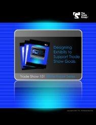 Designing Exhibits to Support Tradeshow Goals