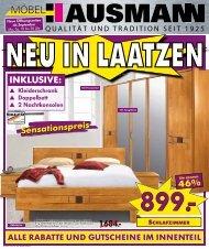 50% - Möbel Hausmann