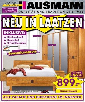 Möbel Hausmann Laatzen kleiderschrank doppelbett 2 nachtkonsolen möbel hausmann