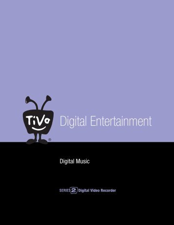 What Is Digital Music? - TiVo