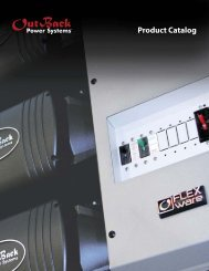 Outback Catalog - ECI Wind and Solar